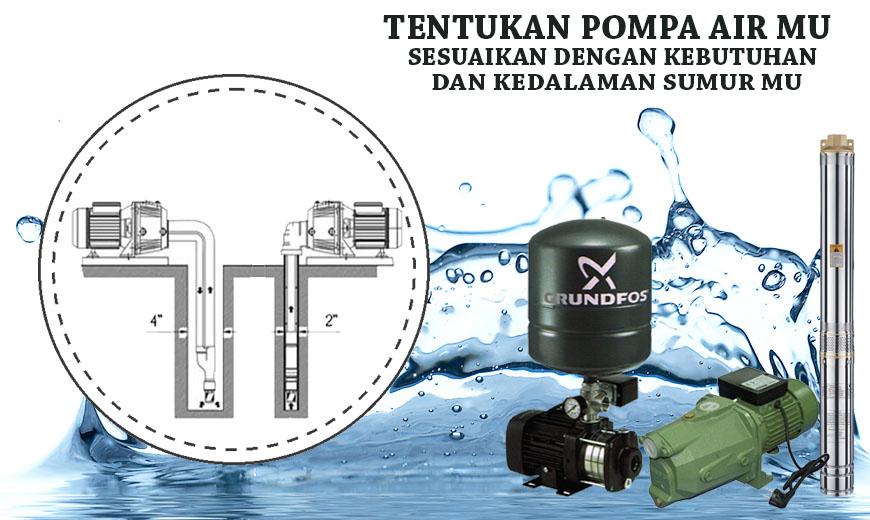 Dealer Pemanas Air Depok Tentukan Pompa Air Mu Sesuai Dengan Kebutuhan Dan Kedalaman Sumur